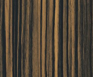 Sample zebrano espresso wood texture pattern for printed glass
